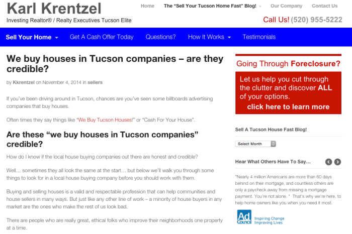 We Buy Houses In Tucson Are they credible?