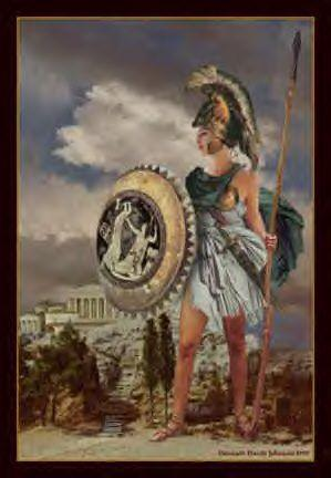 Athena, the Goddess of Wisdom and War