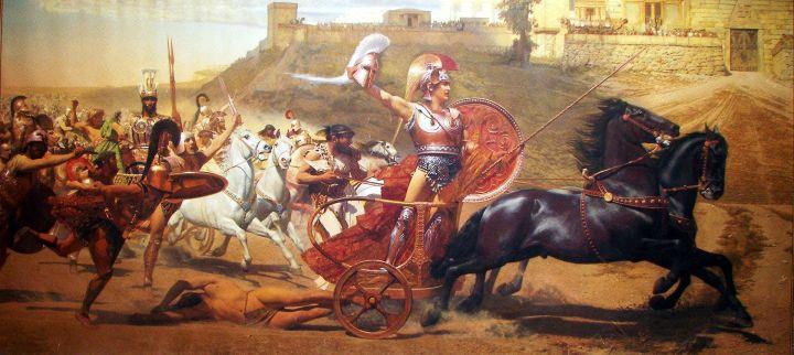 """The """"Triumph of Achilles"""""""